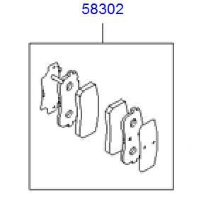 hyundai-veracruz-ix55-rear-brake-pad