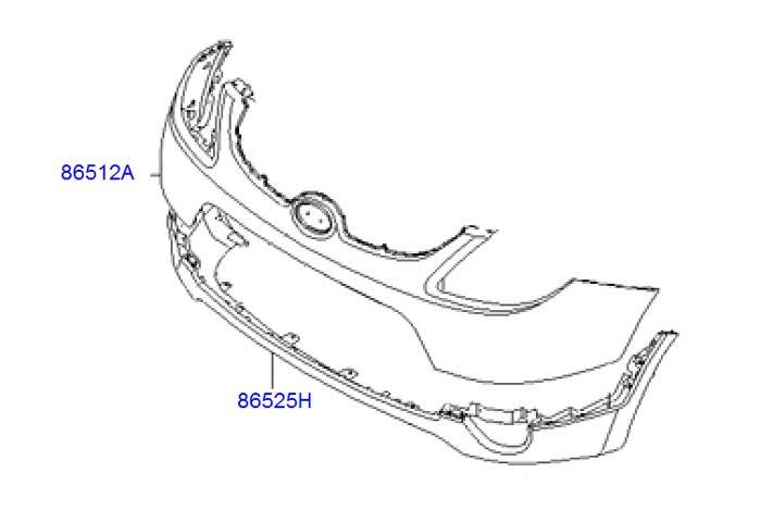 hyundai-veracruz-ix55-front-bumper