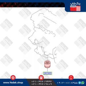 فیلتر روغن هیوندای i20