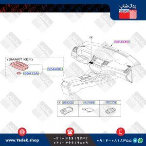 ریموت هیوندای توسان جدید ix35