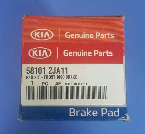 Kia-Mohave-Brake-Pad-front-label