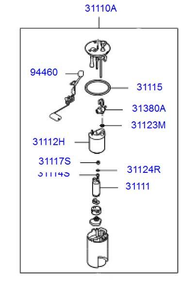 فیلتر بنزین موهاوی - کاتالوگ