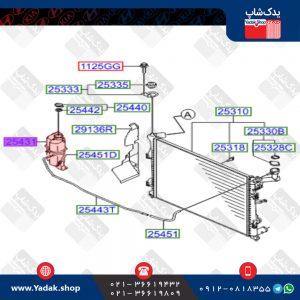 مخزن آب رادیاتور هیوندای i30