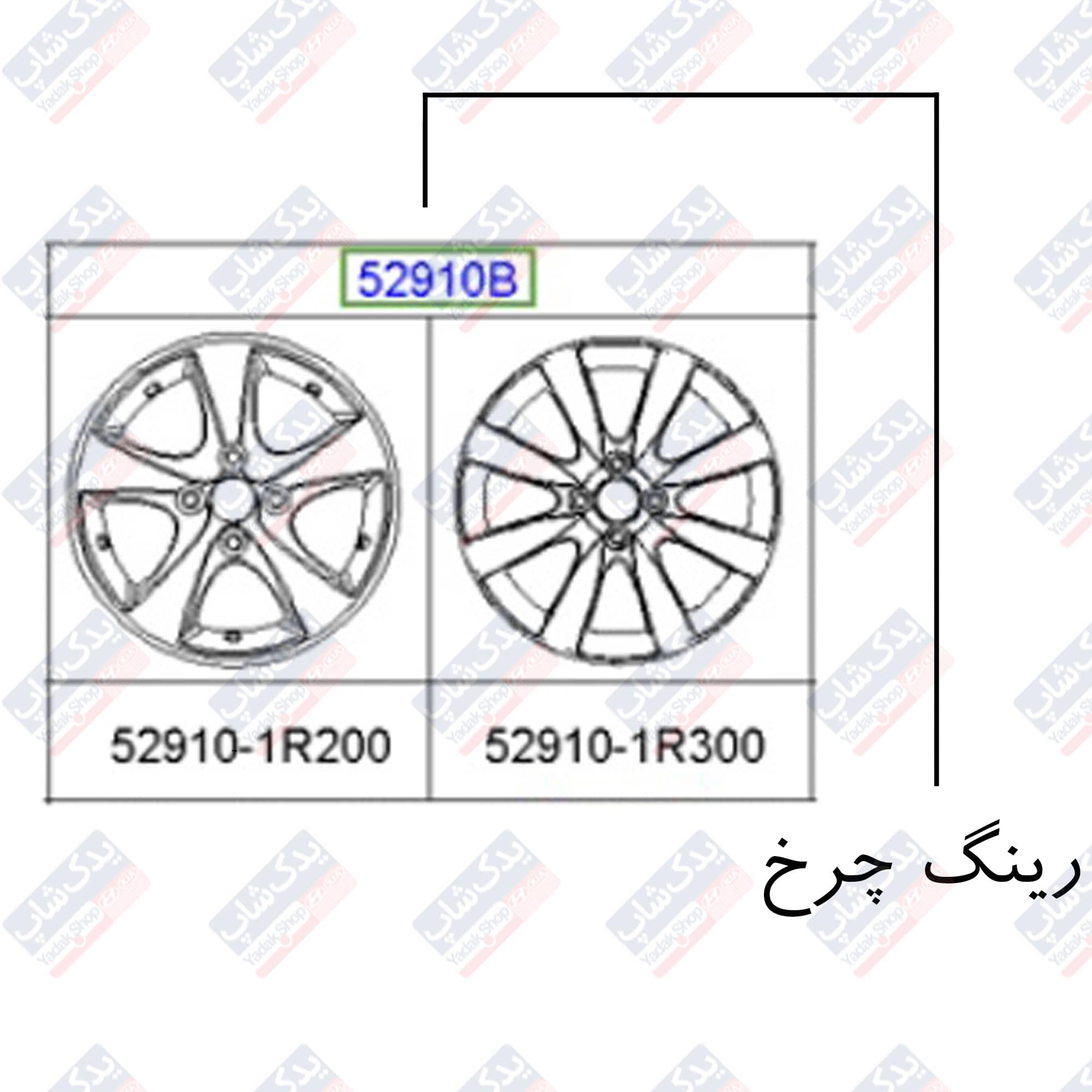 رینگ چرخ