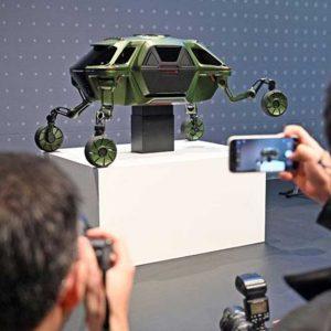ماشین جدید رباتیک هیوندای (با توانایی راه رفتن)
